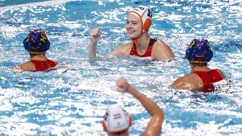 Water polyester recovers with slim victory over Spain