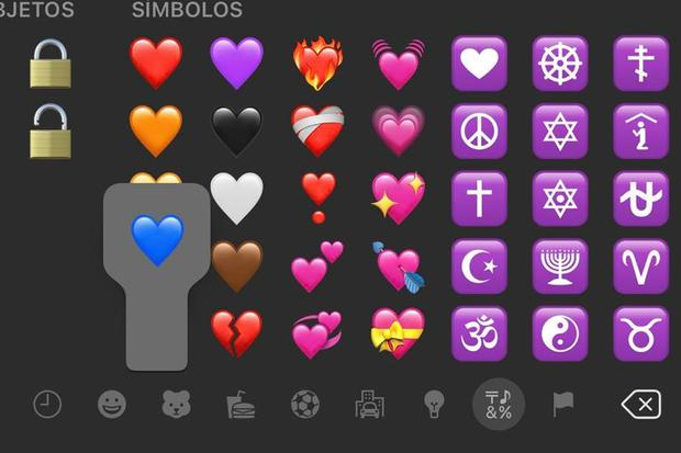 Blue heart meaning emoji