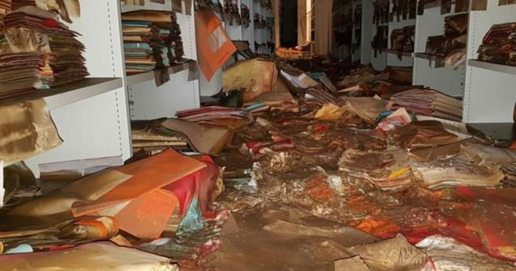 helps!  Belgian archives in danger after floods and mold explosion in unique books |  abroad