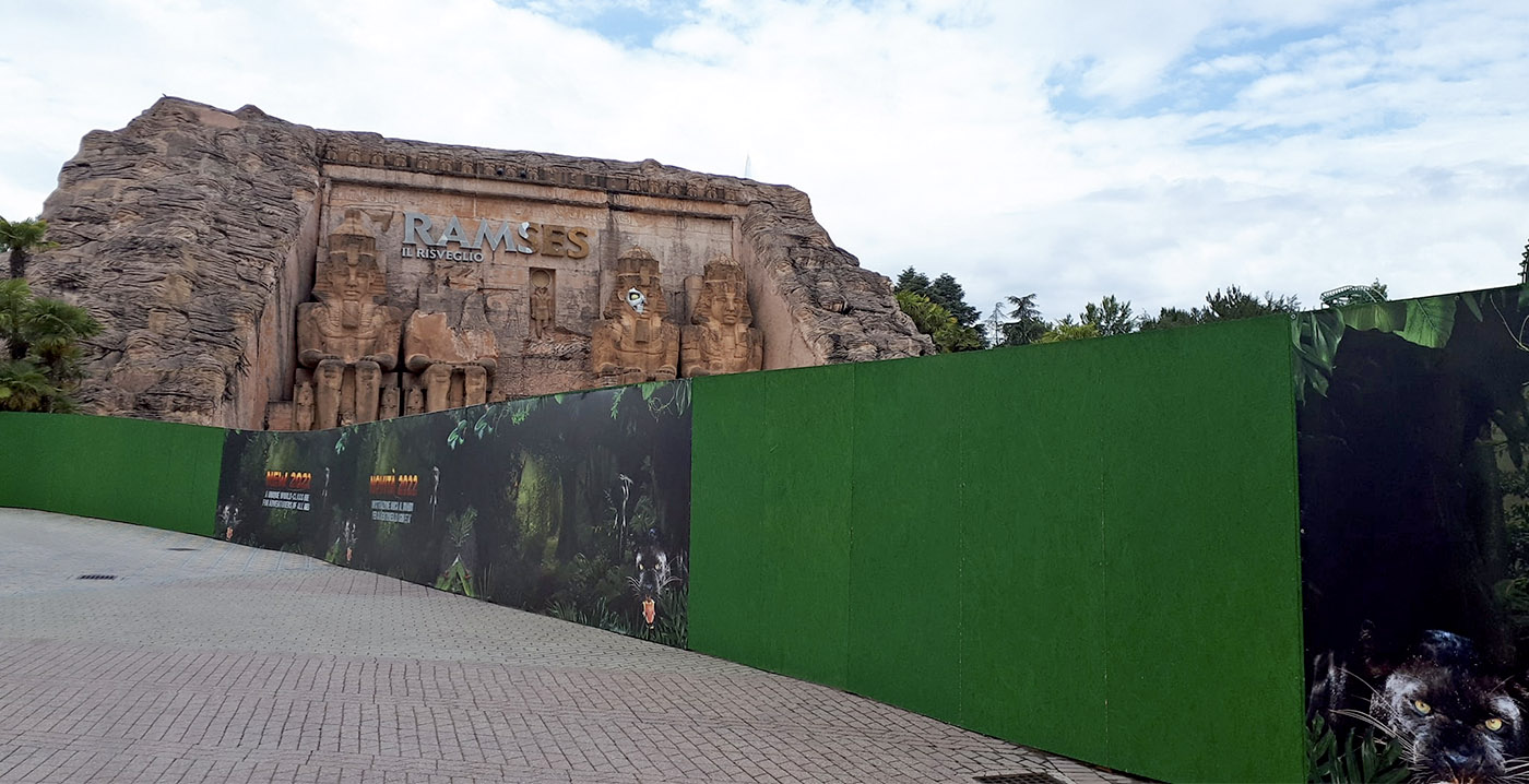 Gardaland replaces the interactive dark ride with