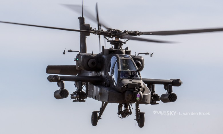 The first Dutch Apache in America for production