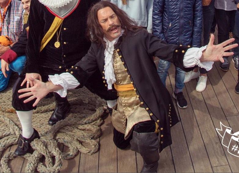 "ING Bank presents Michiel de Ruyter as ""Hero of the Sea"" at Sail 2015"