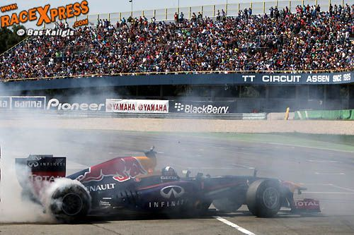 TT Assen Red Bull F1 Circuit David Coulthard
