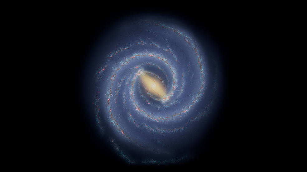 Unknown external force in the large-scale structure, showing a broken arm in the galactic bow arm    TechNews