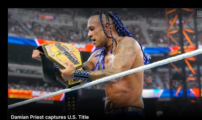 Damian defeated the Reverend.  Sheamus wins the US Championship - Dagblad Suriname