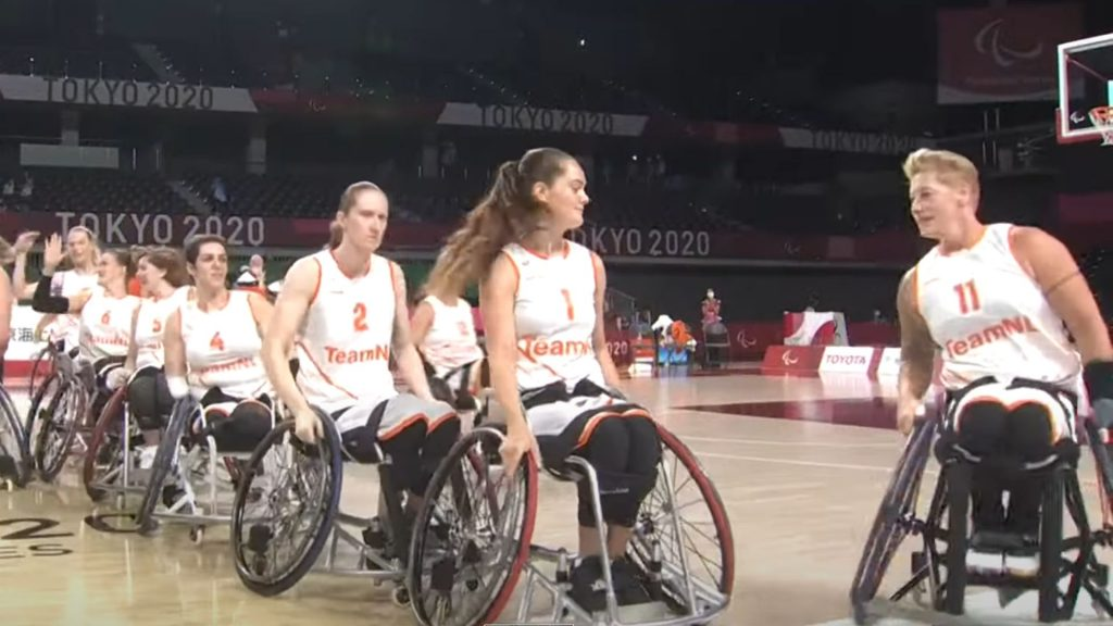 Cher Korver kicks off Paralympic basketball with victory