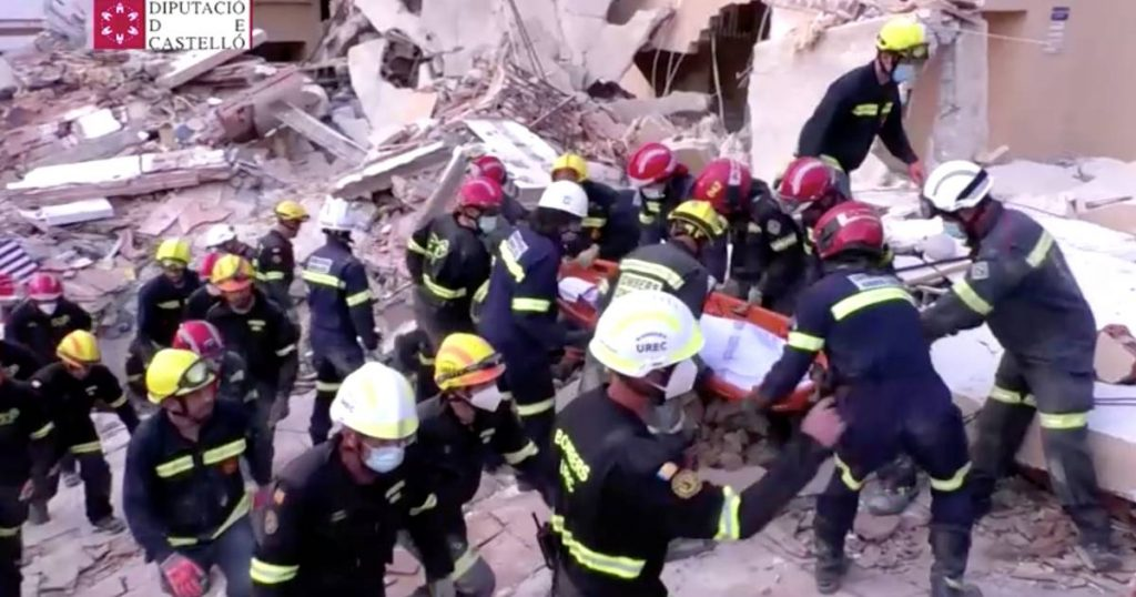 A second body was found under the rubble and an apartment collapsed in a Spanish seaside resort    Abroad