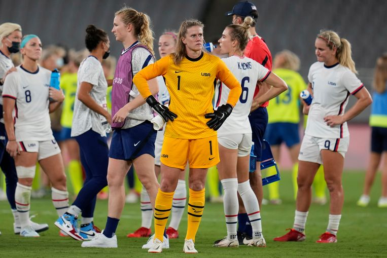 American football women are shocked but not yet in a state of panic after defeat to Sweden