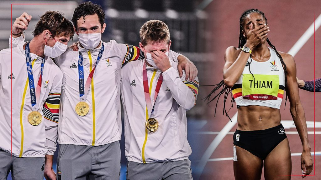 Belgian sports history: two Olympic golds in one day (and within an hour)    the Olympics