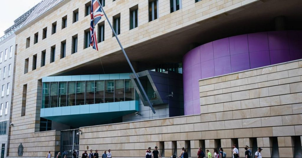 British embassy employee arrested in Berlin on charges of spying on Russia    abroad