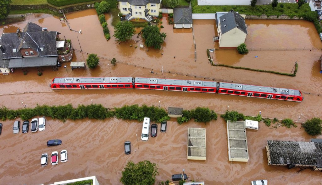 Climate change makes European floods more likely