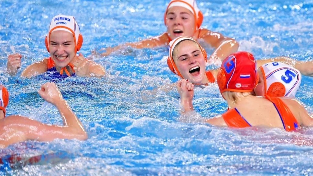 For water polo players, the games really start now