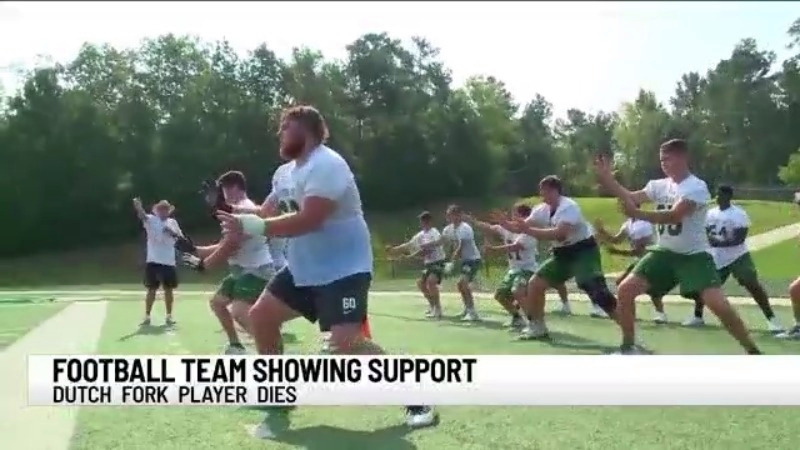 Gaffney High School honors Dutch footballer Fork who died while training