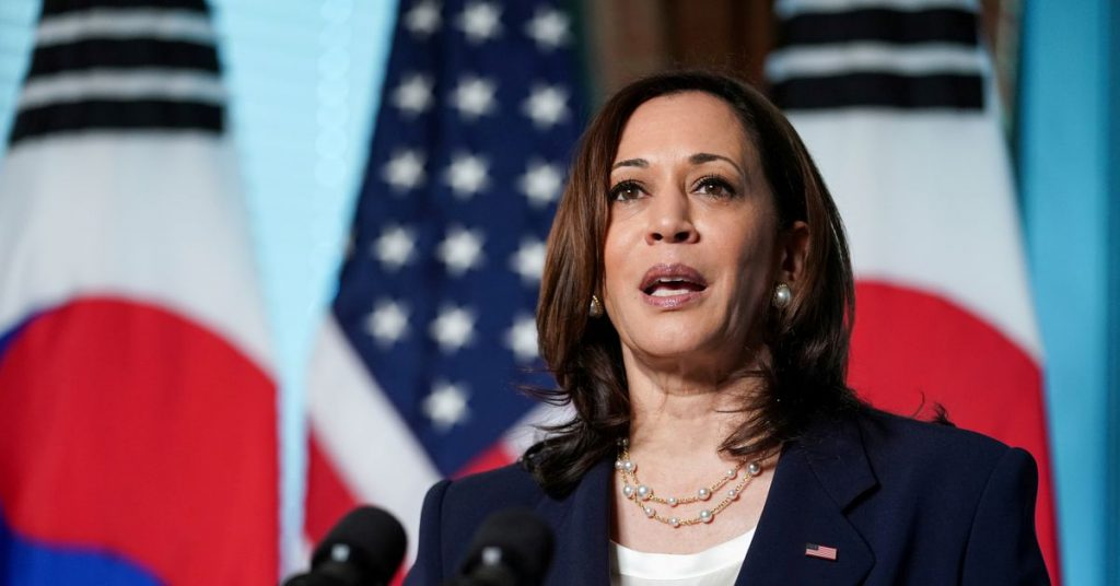 Harris to respond to China's claims in the South China Sea during Asia trip