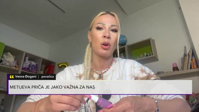 A shocking confession from VESNA OOGANI: The godparents took her out of the orphanage, and because of her difficult childhood, today she is a fighting and successful woman