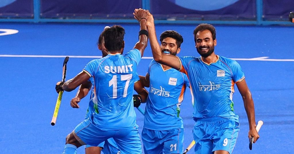 Hockey, India and Belgium join Australia and Germany in the semi-finals