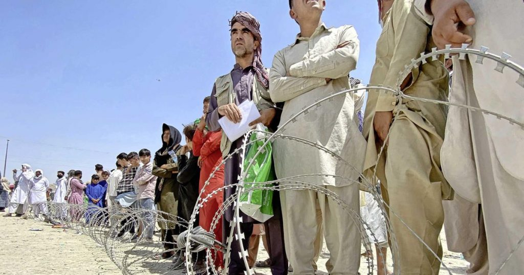 NATO points to Afghans and the reporter breaks into tears    abroad