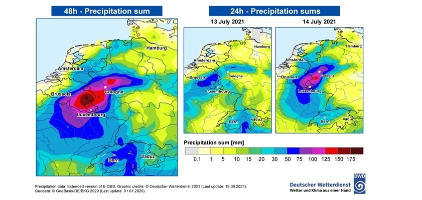 Solar Journal - Researchers confirm link between climate change and flooding in Limburg due to heavy rainfall