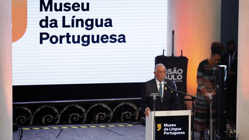 The Museum of the Portuguese Language in Brazil reopens after a devastating fire