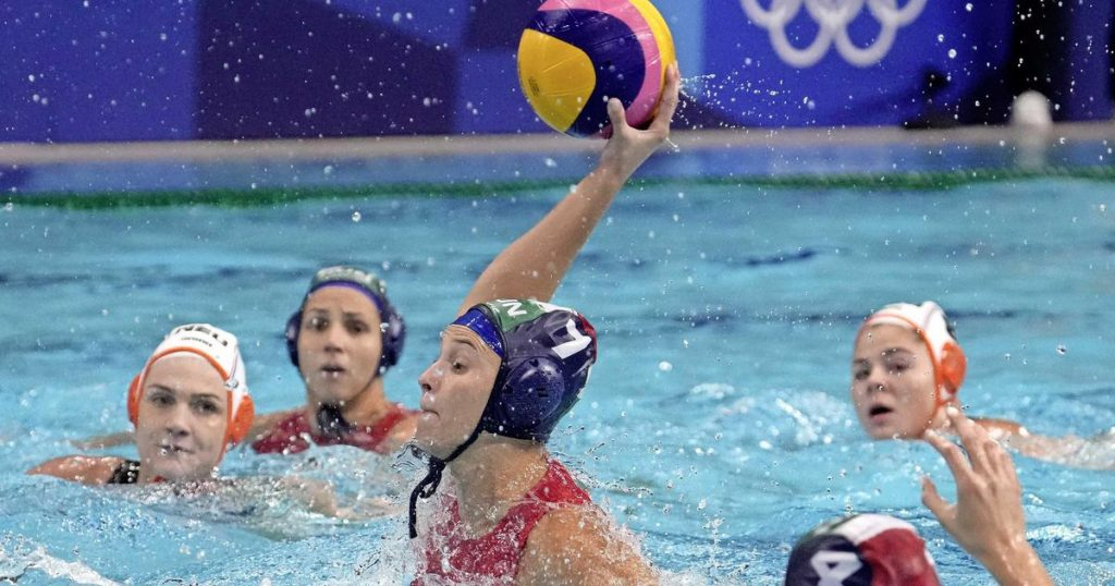 The orange water flock swayed in the quarter-finals of the Olympic tournament |  sports