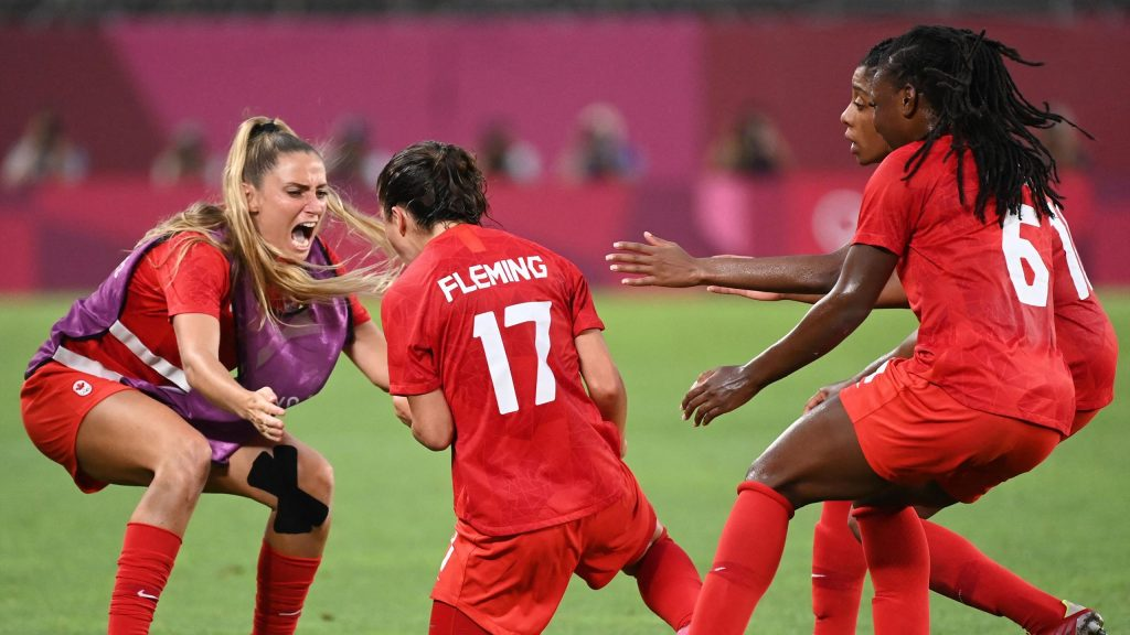Tokyo 2020 |  Canada to the football final at the expense of the United States