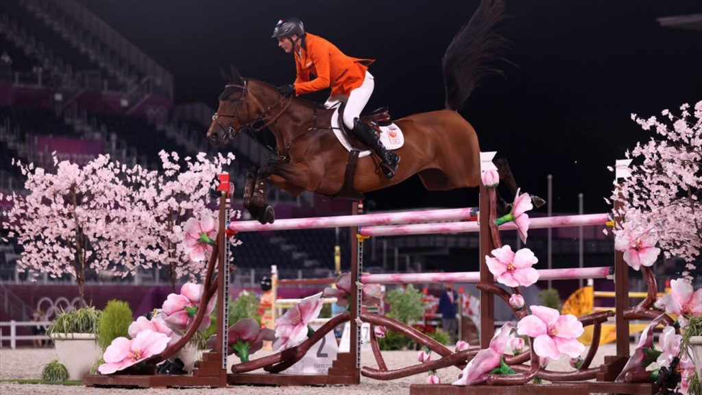 Tokyo 2020 |  Dutch show jumpers only miss medals