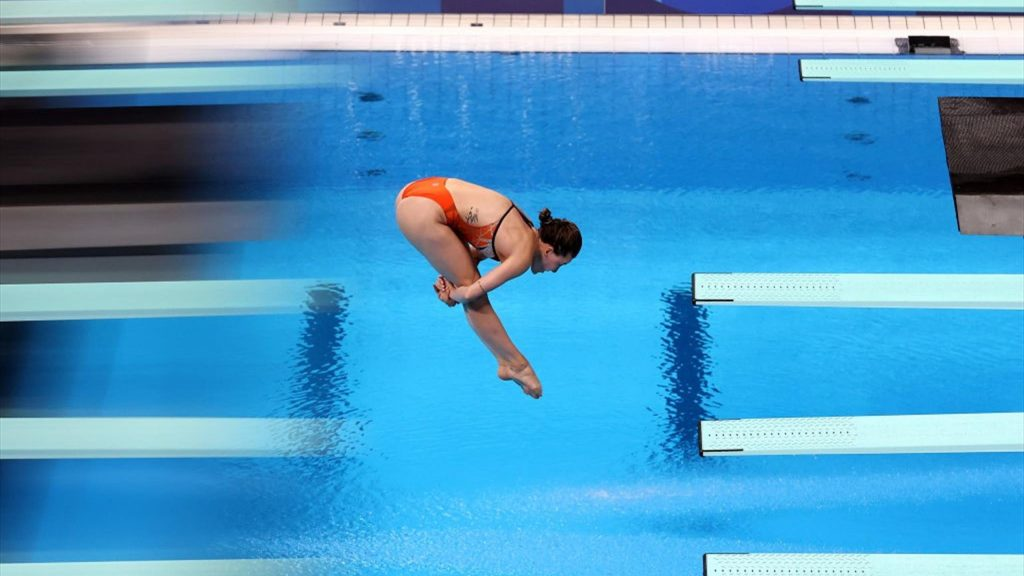 Tokyo 2020    Waseem 5th place for Inge Jansen in the diving final