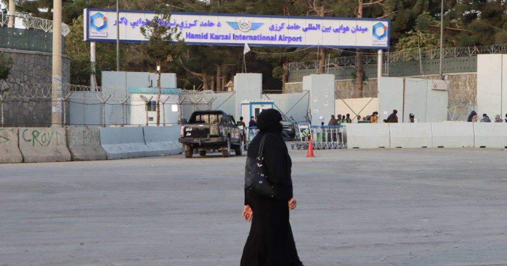 US: Taliban allow foreigners and Afghans to leave with travel permission |  Policy