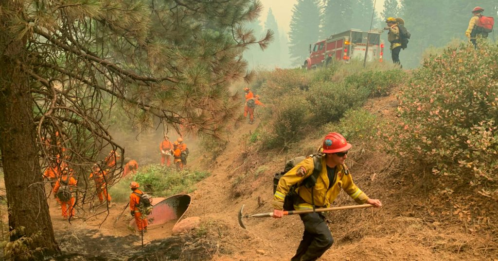 US firefighters face a 'critical day' as the Dixie fires threaten cities