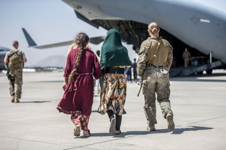 Uganda helps US evacuate from Afghanistan, and there appears to be criticism of cooperation