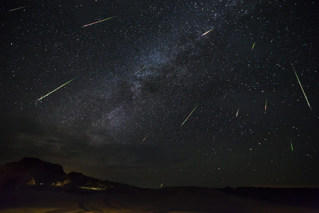 Weather looks promising with Perseid meteor showers in the San Francisco Bay Area