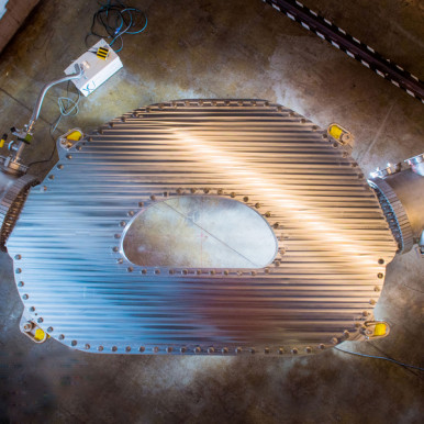 A new step in building a nuclear fusion supermagnet