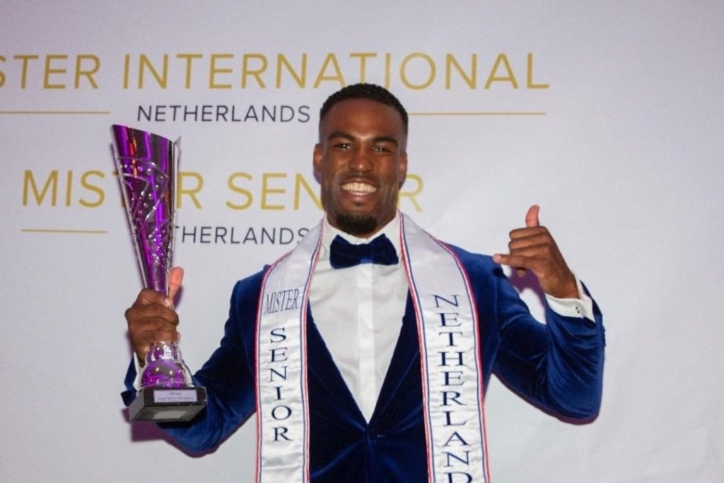 Luciano wins Mr. Senior Holland: I hope to inspire other Rotterdams