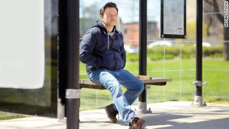 Turning a disadvantage into an advantage.  Waiting for the bus?  This is the perfect time to sit down and take a break.