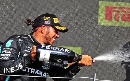 Hamilton scores his 100th Formula One win
