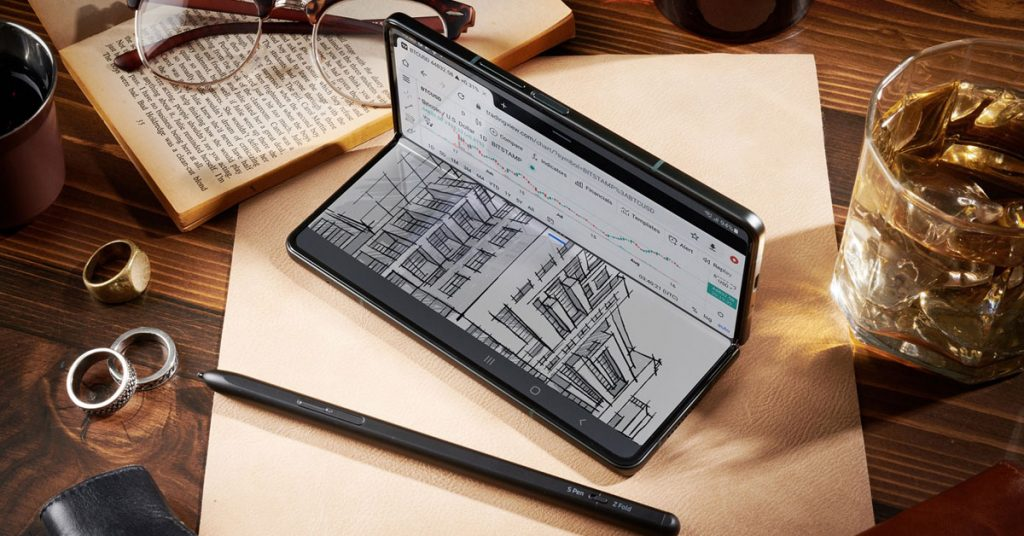 Life has changed with the Samsung Galaxy Z Fold3 5G Discover 5 great features that will make life more efficient :: Thaimobilecenter.com