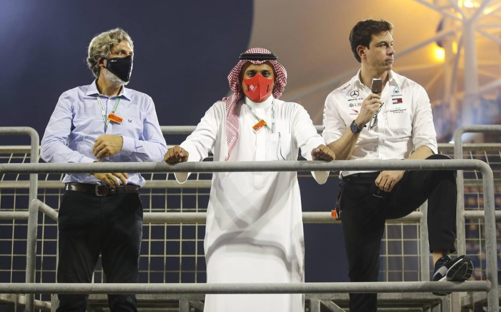 The Saudi Formula 1 circuit is not ready yet