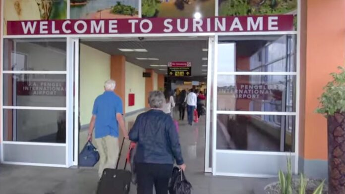 There is no disease control for passengers arriving at Suriname Airport