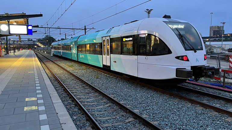 Arriva mag een nachttrein van Groningen over Assen naar de Randstad laten rijden (Rechten: serge vinkenvleugel/RTV Drenthe)