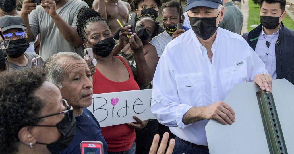 Biden will visit the stricken areas of the northeastern United States next week |  Abroad