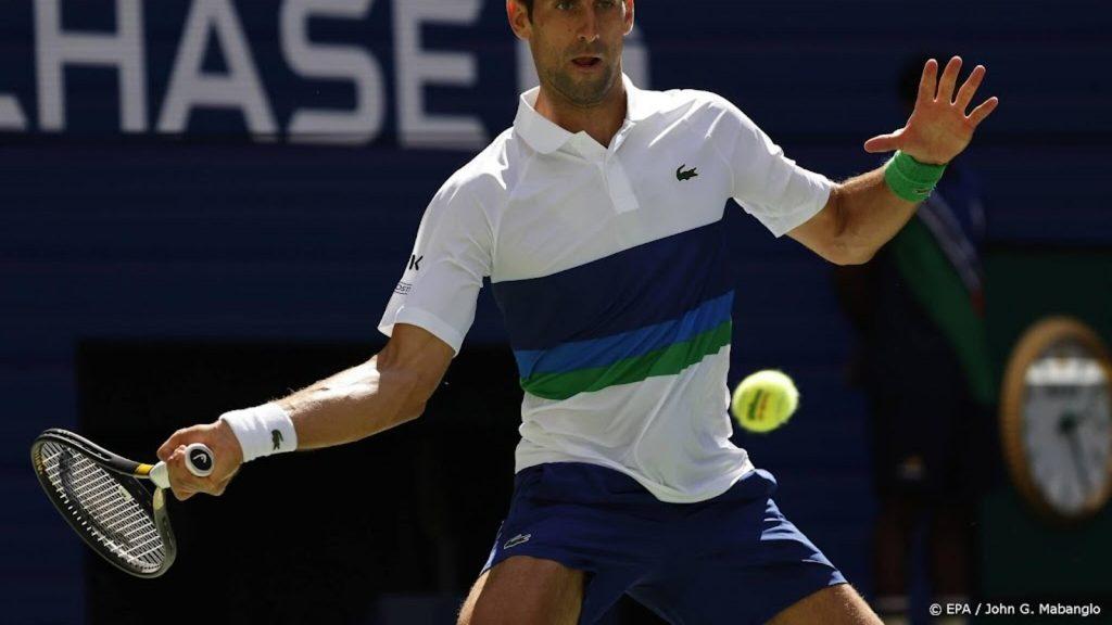 Djokovic beat Nishikori to the fourth round of the US Open