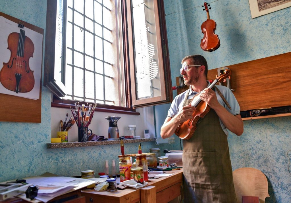 Italy's violin capital with music recovers from COVID-19