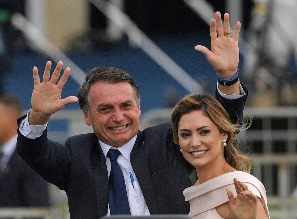 Jair Bolsonaro's wife was vaccinated in the United States, criticizing the guardian