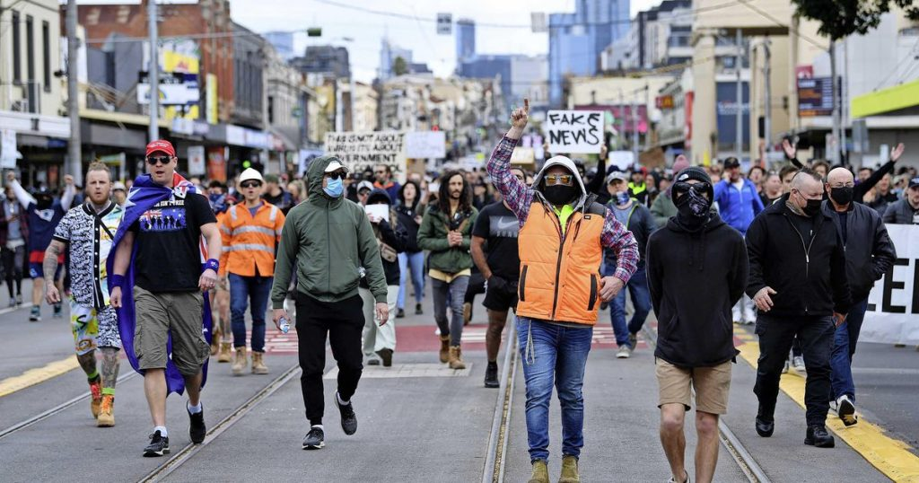 Nearly 270 arrested in Australia shutdown protests |  Abroad