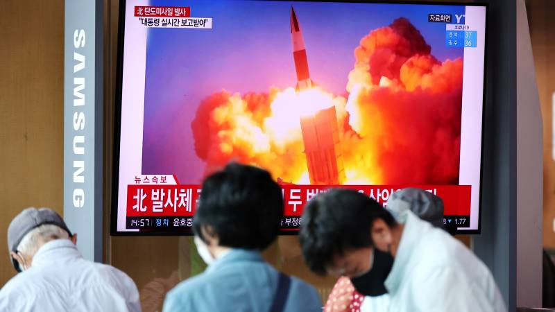 """North Korea """"tests new weapons"""" and attacks the United States"""
