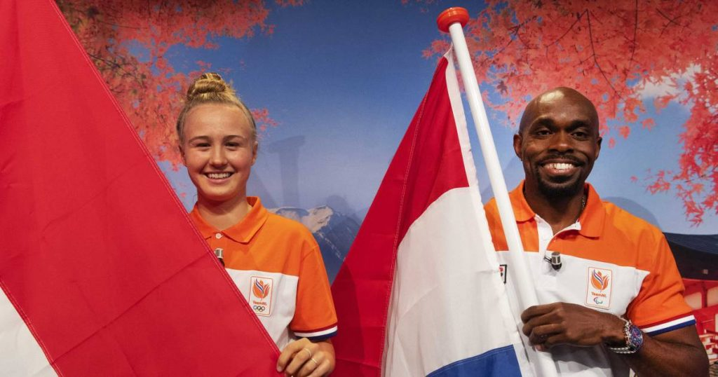 Shurandi, 36, and Kate, 16, carry the flag in Tokyo: 'Routine and rookie inspire Holland' |  the Olympics