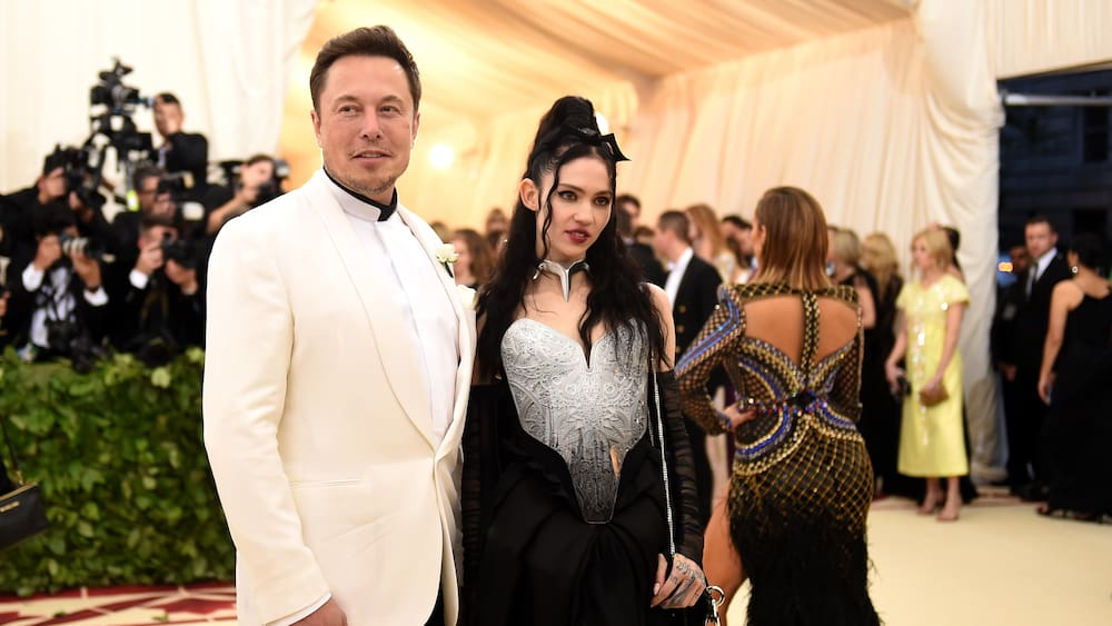 Tesla founder Elon Musk and Grimes separate