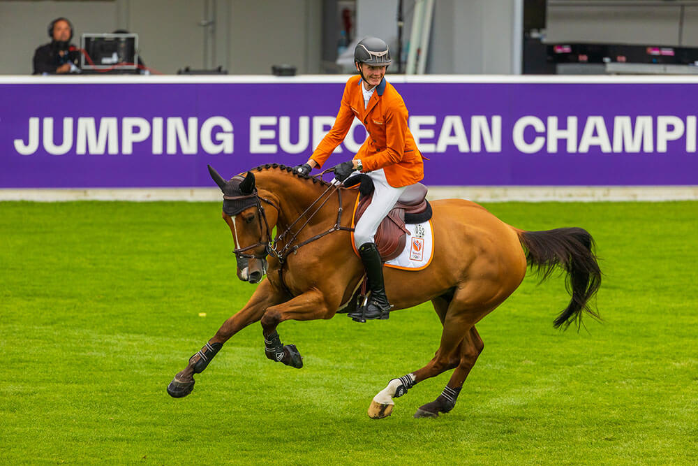 The Dutch show jumpers' setback at the European Championships