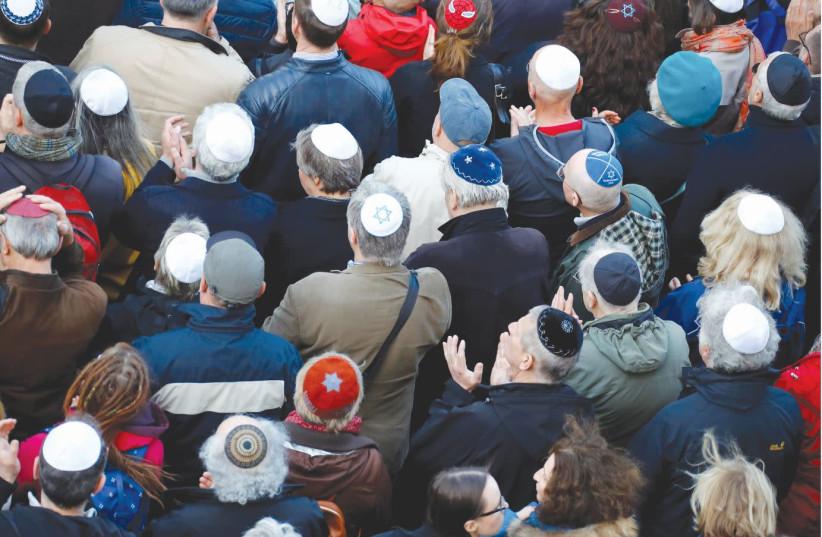 The world's Jewish population is 15.2 million