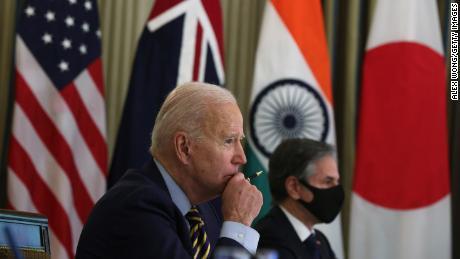 US-China policy: Biden brings together Japan, Australia and India to stare at China